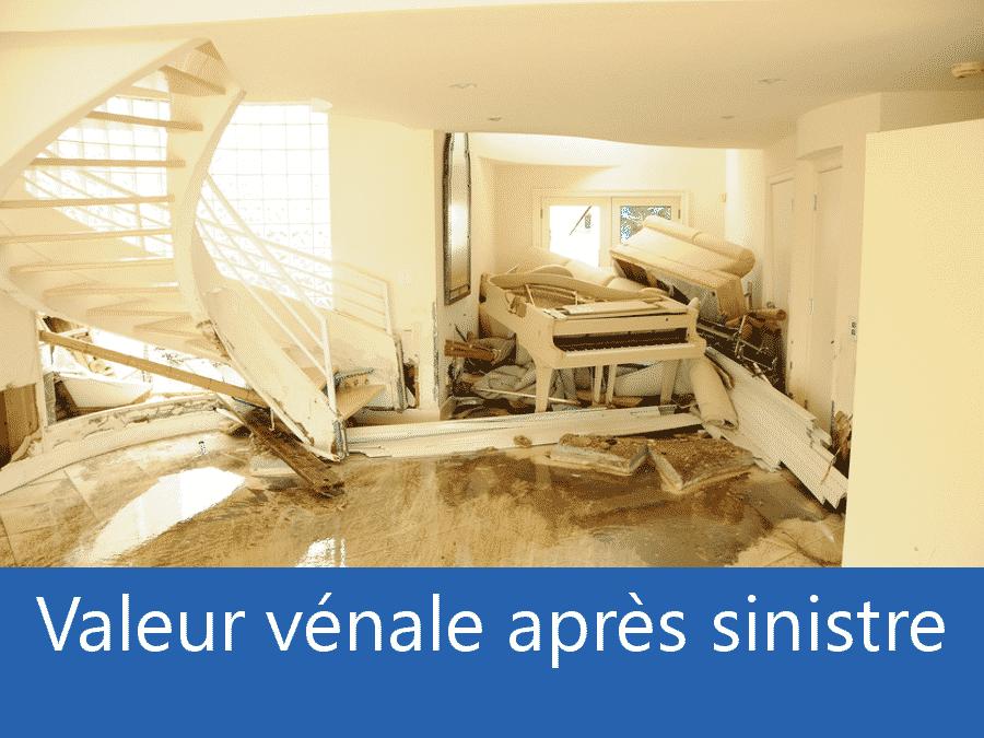 valeur vénale après sinistre 84, valeur dégâts après sinistre 84, avis valeur sinistre Vaucluse,