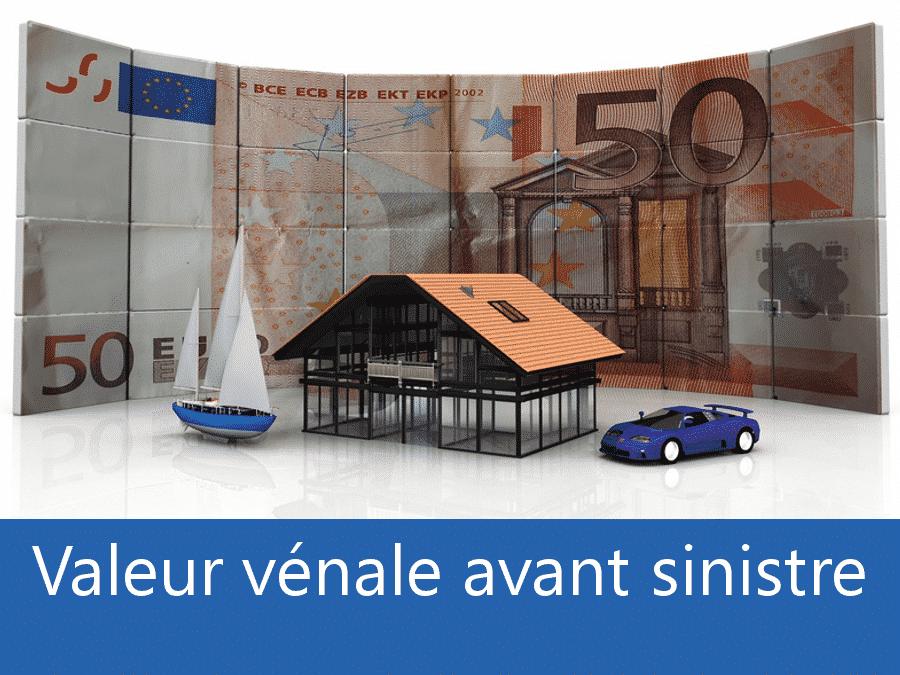 Valeur vénal avant sinistre 84, valeur des biens assurance 84, expert valeur vénale Vaucluse,